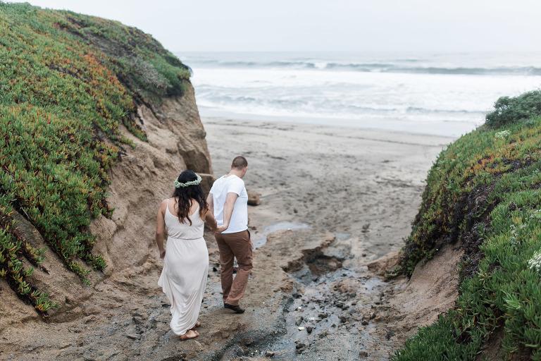 half moon bay wedding photographer