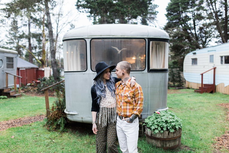 Sou'Wester Vintage Trailer Park Wedding Photography