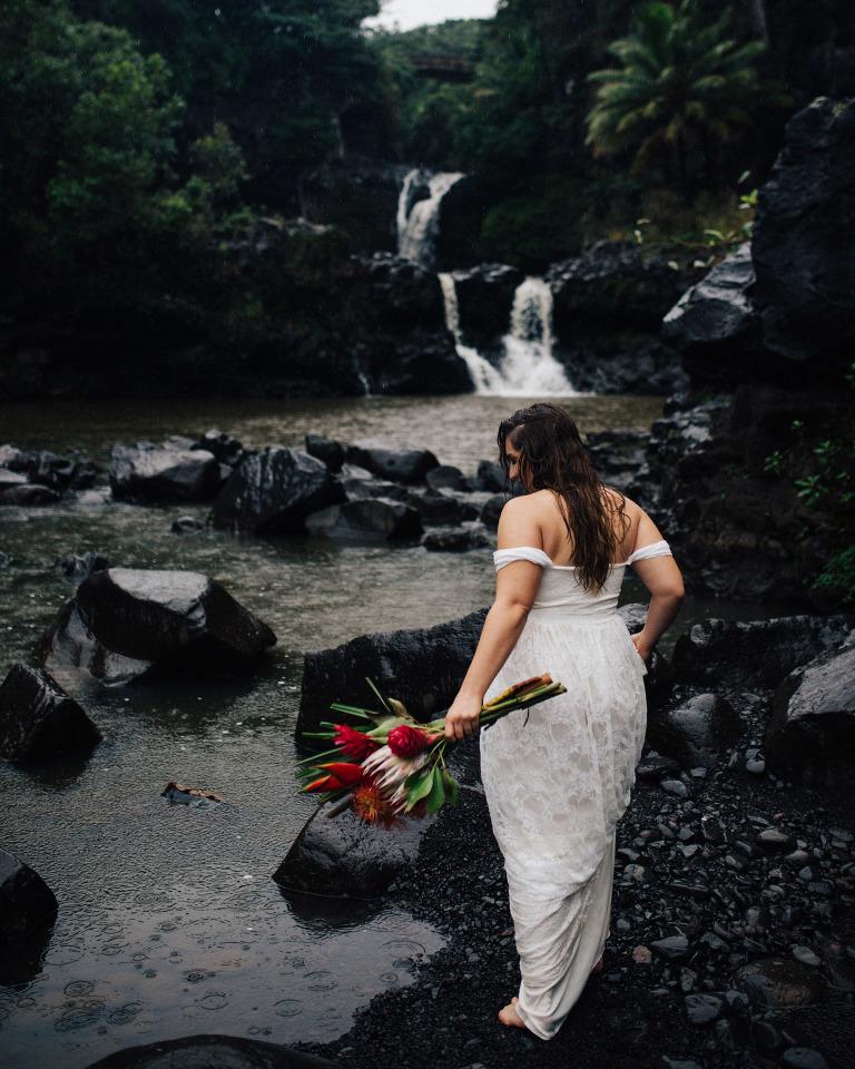seven sacred pools where to get married maui