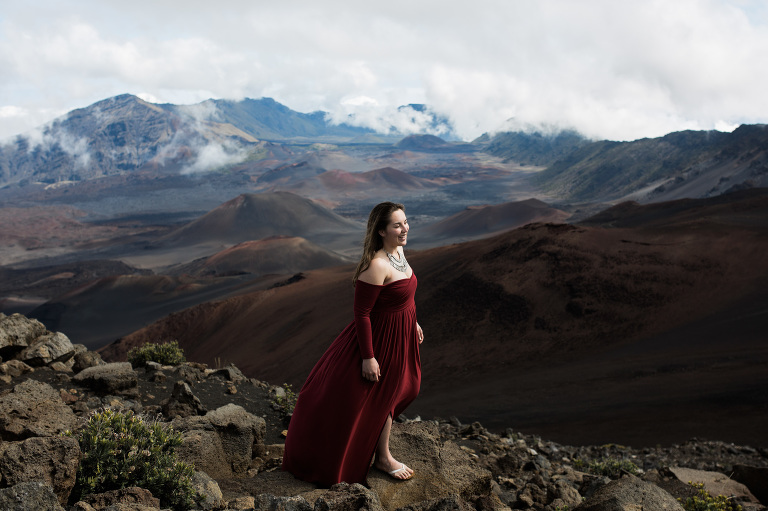 maui haleakala summit maui destination wedding
