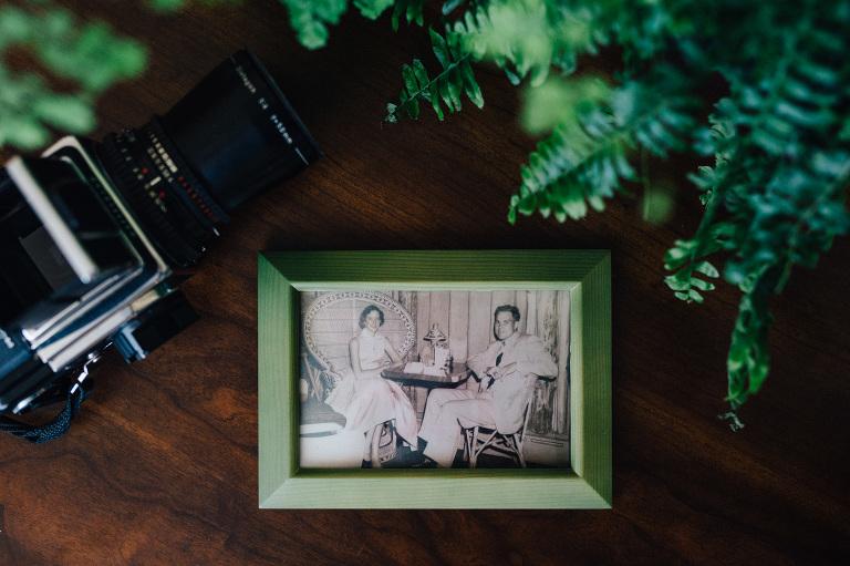 1950s vintage engagement photo