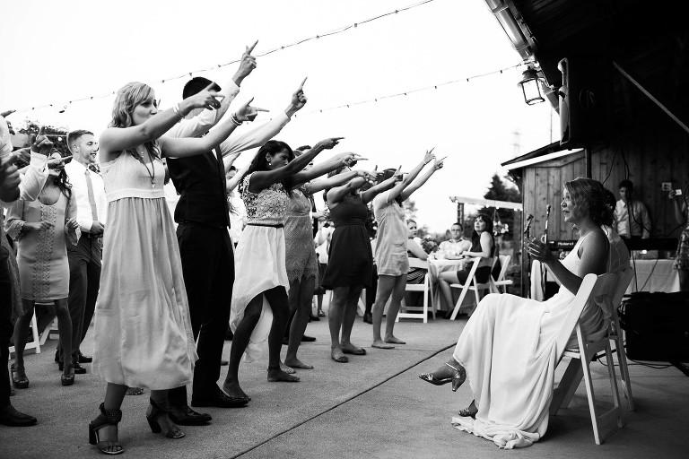 wedding surprise flash mob dance