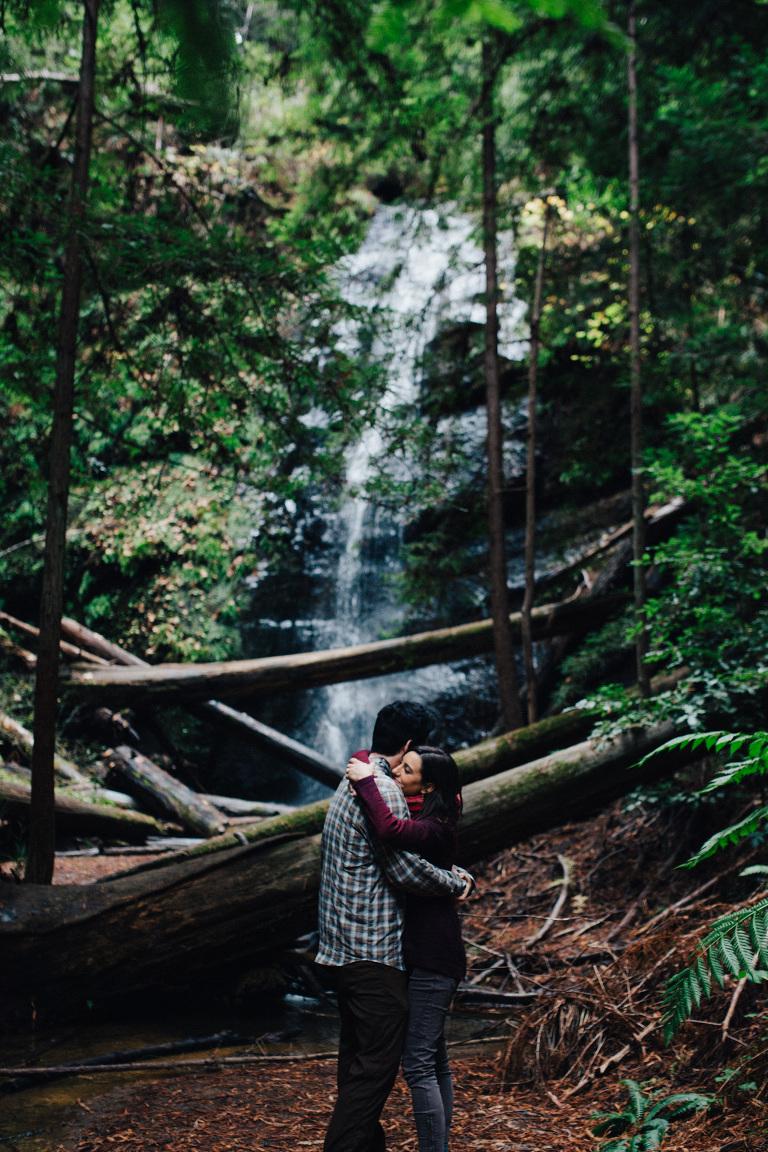 Big Basin Redwoods Engagement Amelia Amp Simon Santa Cruz