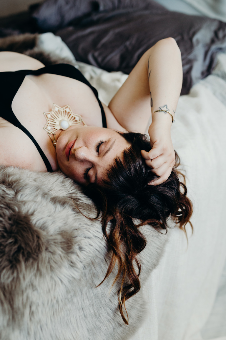 body positive boudoir photography
