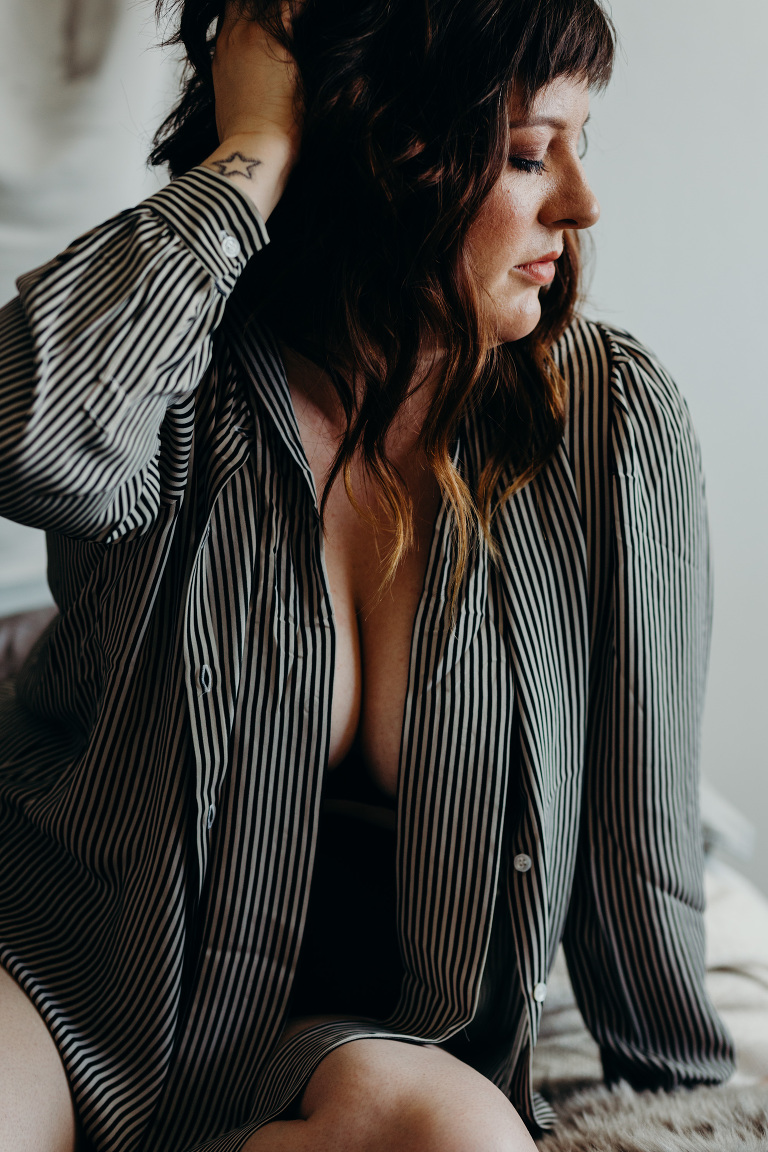bay area unconventional boudoir photography