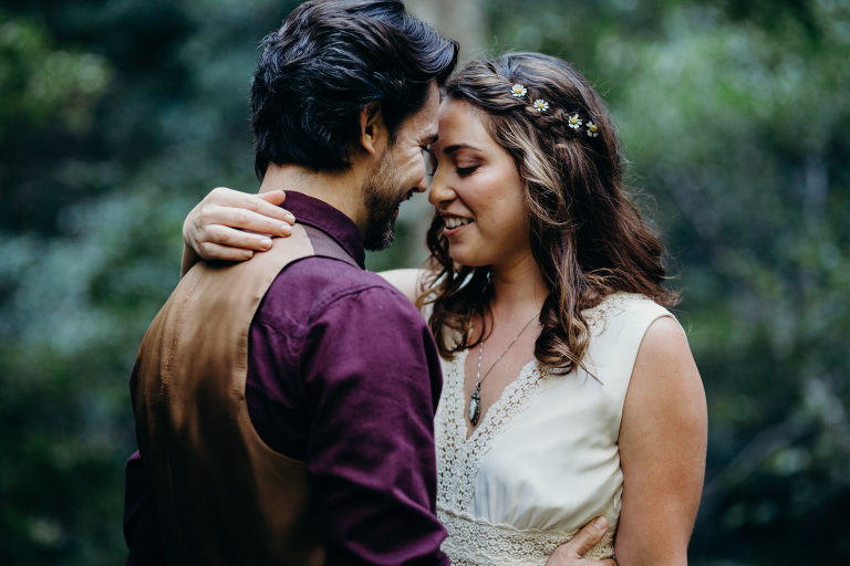 Intimate Big Sur Bakery Wedding