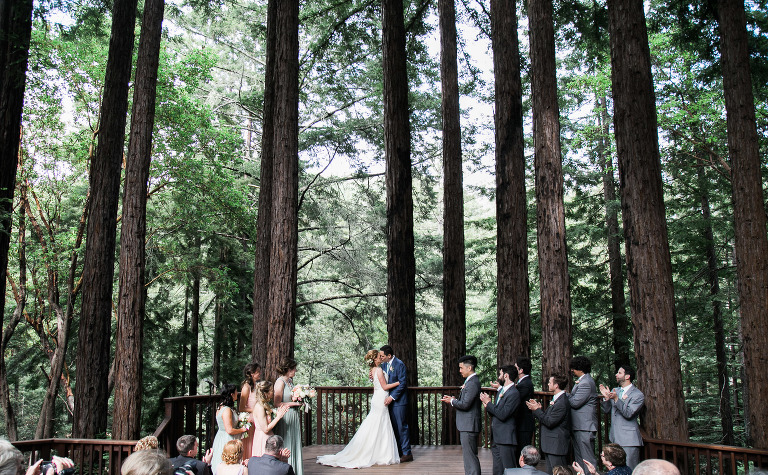 Santa Cruz Wedding Venues Outdoor Redwood Ceremony