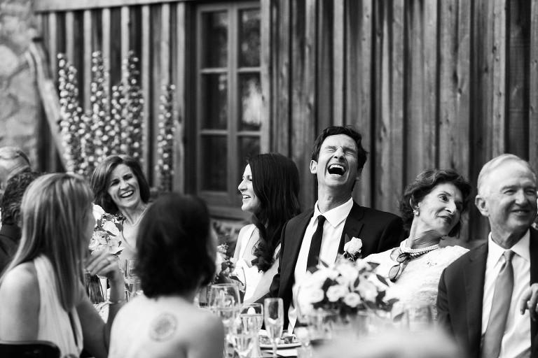 wedding toast emotional candid photo