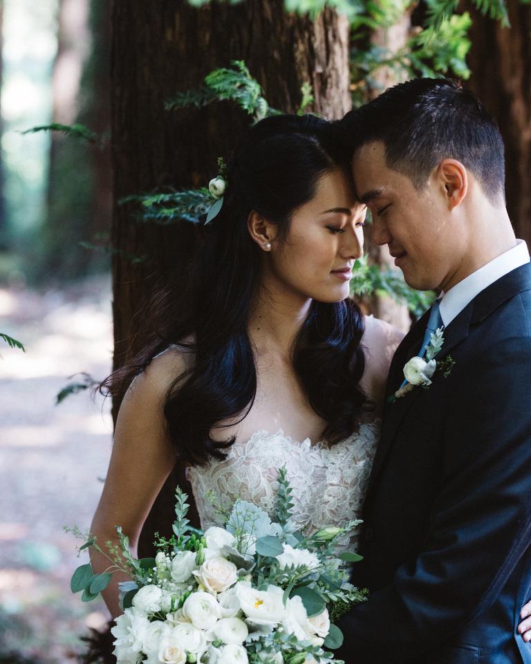 mountain terrace woodside wedding