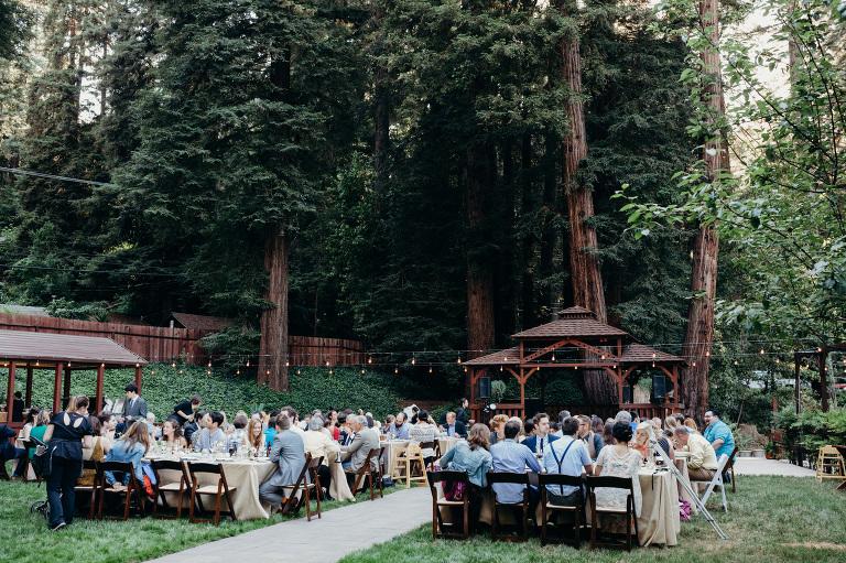 Woodsy Fern River Resort Wedding Venue Santa Cruz California