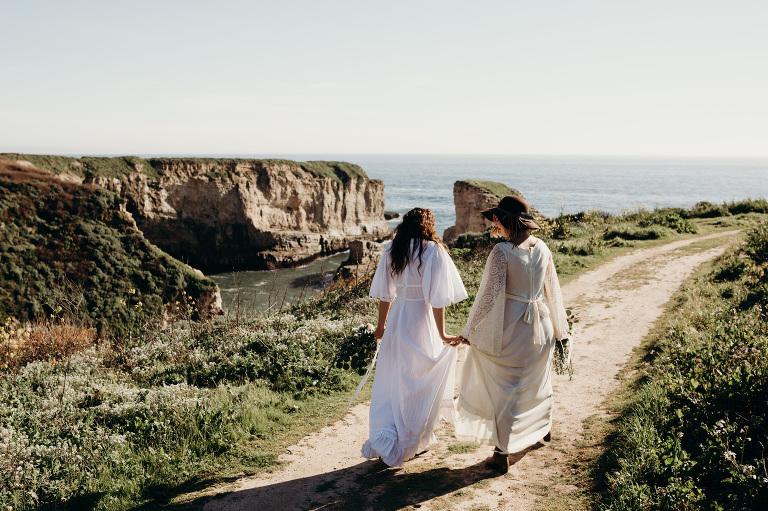 Where to Elope in Santa Cruz, California - Melissa Ergo