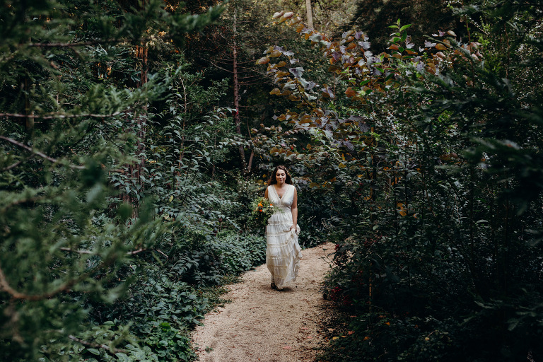 Intimate Tiny Wedding Big Sur