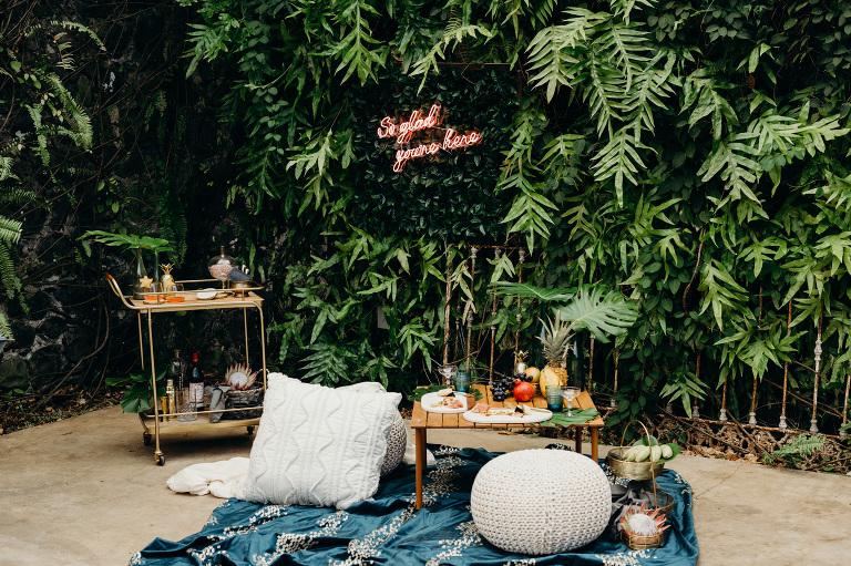 Magical Outdoor Wedding Reception Decor Ideas Melissa Ergo