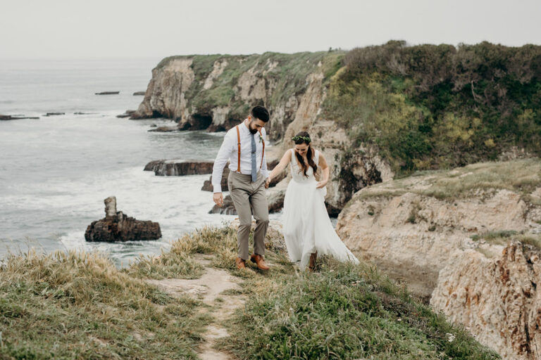 santa cruz county coastal elopement