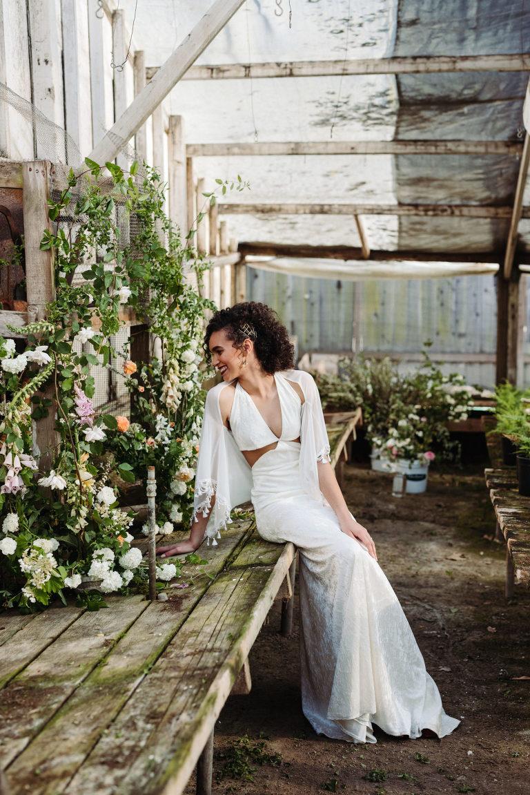 spring garden nursery wedding inspiration