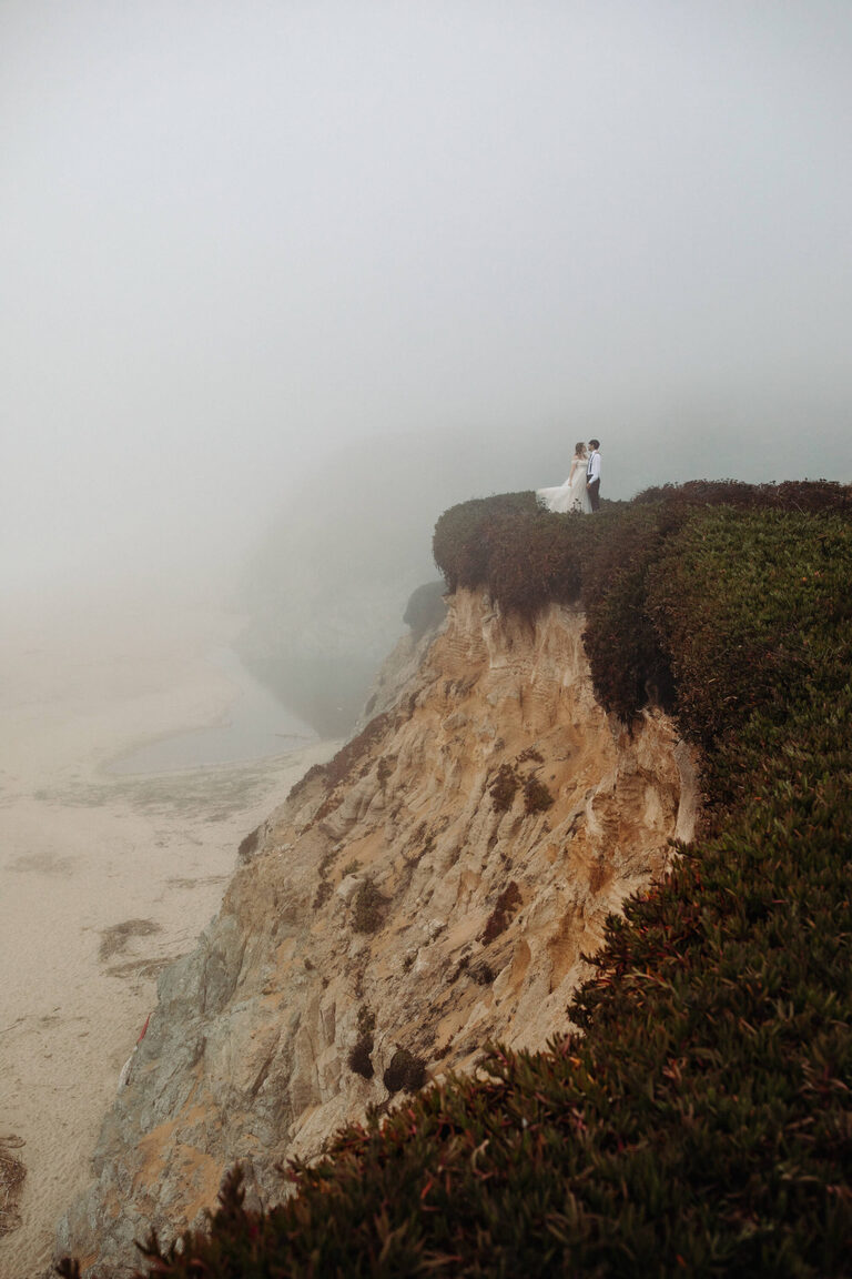 Foggy Big Sur Elopement
