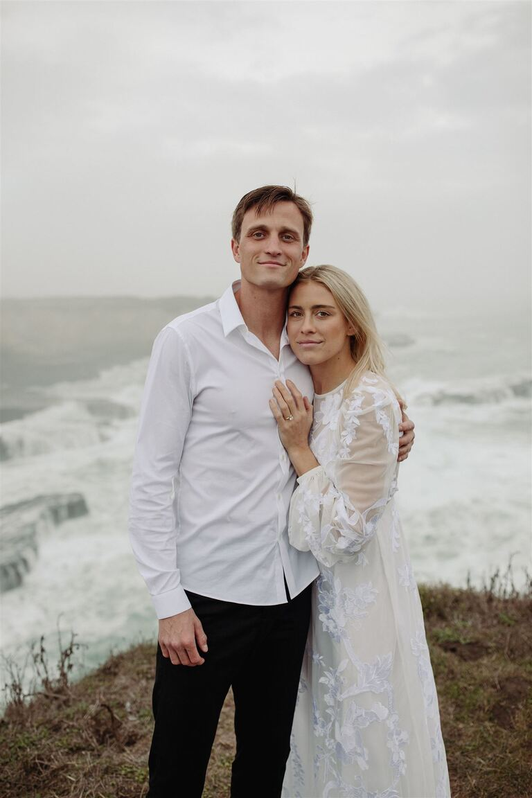 Abby Dahlkemper married Aaron Schoenfeld