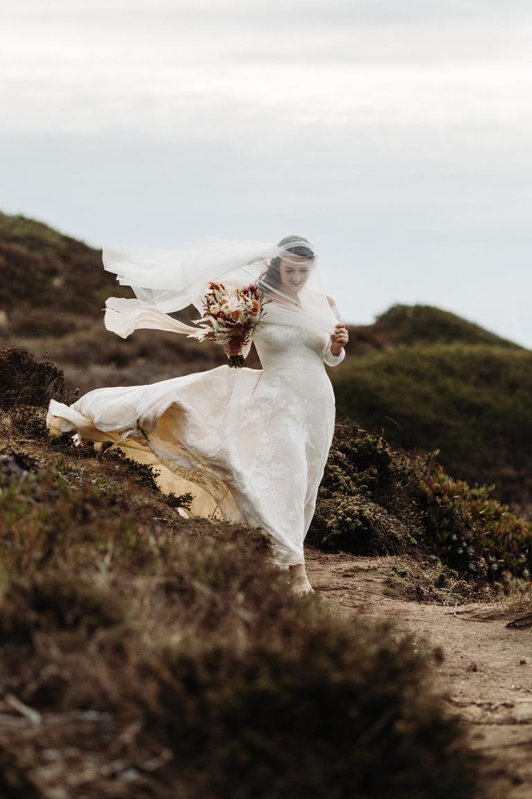 coastal wedding in Big Sur, california