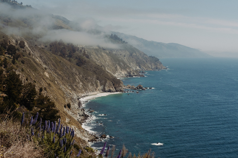 intimate spring elopement in big sur, california